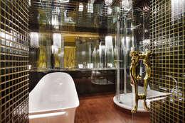 modern Bathroom by Bellissimo Door