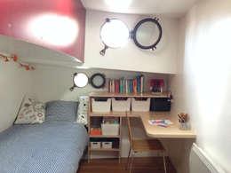 chambre enfant: Chambre d'enfant de style de style eclectique par tina merkes architecte