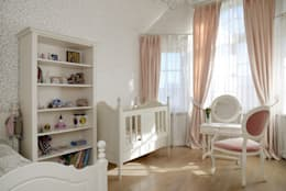 Дом в поселке Ильичевка: Детские комнаты в . Автор – ANIMA