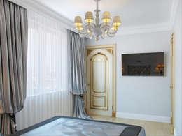 غرفة نوم تنفيذ Студия дизайна интерьера Маши Марченко