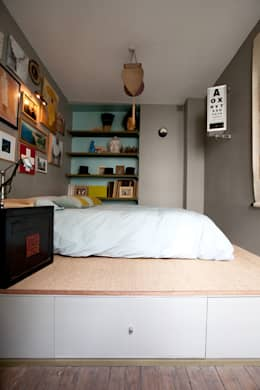 asian Bedroom by Jean-Bastien Lagrange + Interior Design
