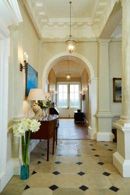 Georgian Country House Corridor Hallway By Etons Of Bath