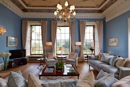 Georgian Country House: classic Living room by Etons of Bath