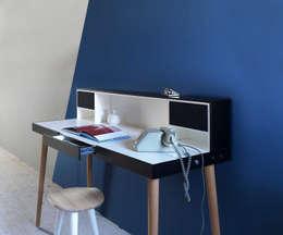 MINIFORMS SCHREIBTISCH BARDINO: minimalistische Arbeitszimmer von Livarea