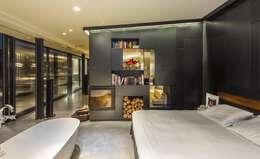 Projekty,  Sypialnia zaprojektowane przez VelezCarrascoArquitecto VCArq