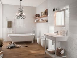 modern Bathroom تنفيذ Fap Ceramiche