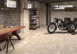 Garage / Hangar de style de style Moderne par Azulev