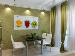 Квартира в г. Гатчина: Кухни в . Автор – Студия дизайна интерьера Маши Марченко