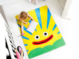 modern Nursery/kid's room by The Land of Zug