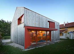 ArchitekturWerkstatt Vallentin GmbH: iskandinav tarz tarz Evler