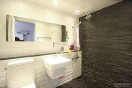 화장실: 홍예디자인의  화장실