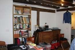 Appartement Pastourelle - Salon avant projet: Salon de style de style Moderne par * aurelie.rubin-chabrier . architecture . architecture intérieure .