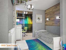 Детская комната для мальчика: Детские комнаты в . Автор – Дом Солнца