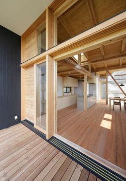 露臺 by 芦田成人建築設計事務所