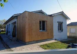 Rénovation et Extension de Maison : Maisons de style de style Moderne par Clemence de Mierry Grangé