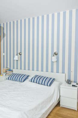 Projekty,  Sypialnia zaprojektowane przez NUX Edward Dylawerski
