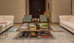 Apartamento Cidade Jardim : Salas de estar modernas por Triplex Arquitetura