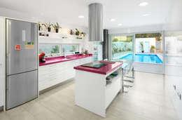 minimalistische Keuken door TOV.ARQ Estudio de Arquitectura y Urbanismo