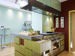 Weltje Road: Cuisine de style de style Moderne par Concrete LCDA