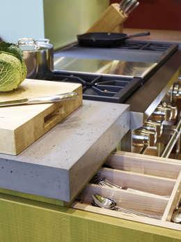 مطبخ تنفيذ Concrete LCDA