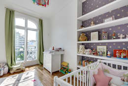 modern Nursery/kid's room by ATELIER FB