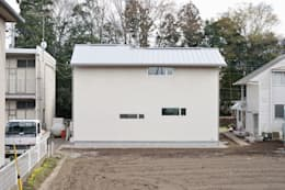 modern Houses by アトリエdoor一級建築士事務所