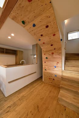 Projekty,  Kuchnia zaprojektowane przez アトリエdoor一級建築士事務所