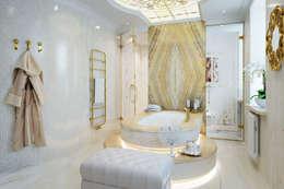 Хозяйская ванная комната: Ванные комнаты в . Автор – Частный дизайнер
