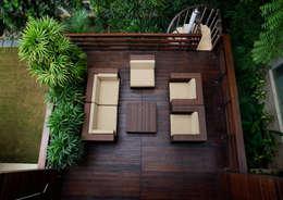 Balconies, verandas & terraces  by Morphogenesis