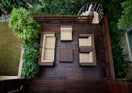 Morphogenesis: modern tarz Balkon, Veranda & Teras
