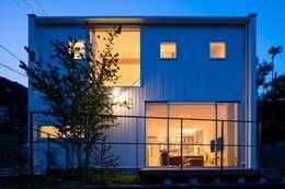 Casas de estilo moderno por arbol