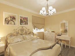 Неоклассика: визуализация, частичный дизайн : Спальни в . Автор – OK Interior Design