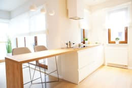 wnętrze mieszkania 68 m2: styl , w kategorii Kuchnia zaprojektowany przez Mootic Design Store