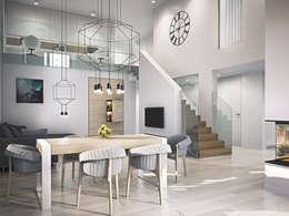 modern Dining room by Kunkiewicz Architekci