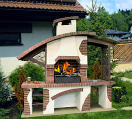 Jardin de style de stile Rural par Barbecue