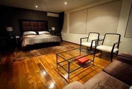 Projekty,  Sypialnia zaprojektowane przez Concepto Taller de Arquitectura