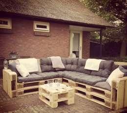 สวน by Meubelen van pallets