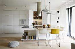 Mieszkanie Wilanów: styl , w kategorii Kuchnia zaprojektowany przez Devangari Design