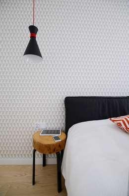 Apartament Praga : styl , w kategorii Sypialnia zaprojektowany przez Devangari Design