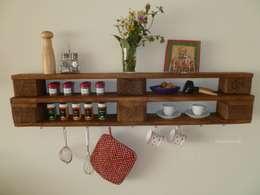 rustieke & brocante Keuken door Palettano