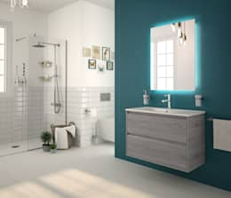 modern Bathroom تنفيذ Salgar