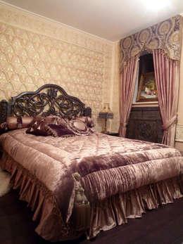 Интерьер в восточном стиле: Спальни в . Автор – Prosperity