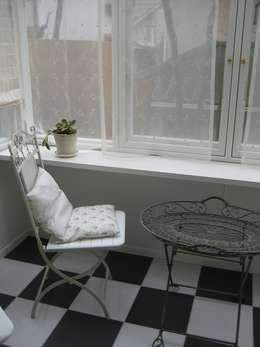 Jardines de invierno de estilo ecléctico por (株)ハウスオブポタリー