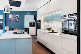 moderne Küche von in-toto Kitchens Design Studio Marlow