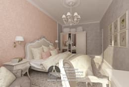 Дизайн спальни: Спальни в . Автор – Бюро домашних интерьеров