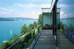 Casas de estilo moderno por Arkan Zeytinoglu Architects