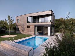 Projekty,  Basen zaprojektowane przez nimmrichter architekten ETH SIA AG