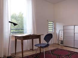 Projekty,  Domowe biuro i gabinet zaprojektowane przez nimmrichter architekten ETH SIA AG