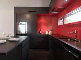 Projekty,  Kuchnia zaprojektowane przez nimmrichter architekten ETH SIA AG
