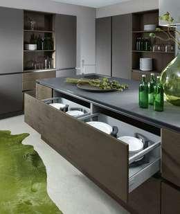 moderne Keuken door DESIGNWERK Christl